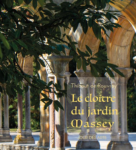 Couverture livre le cloitre du jardin Massey