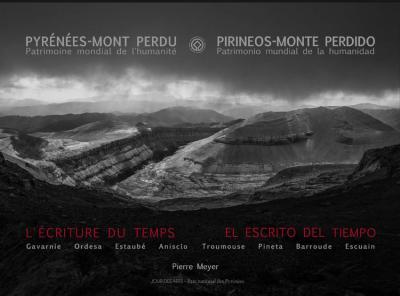 livre Pyrénées Mont Perdu, l'écriture du temps, de Pierre Meyer-ÉPUISÉ
